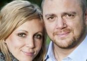 Jessica Buchanan and Erik Landemalm