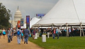 At The 2011 National Book Festival